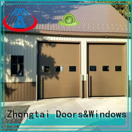 Wholesale electric garage doors aluminum supply for high-grade villas