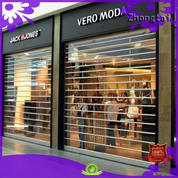 Wholesale shop shutter prices electric factory for window display
