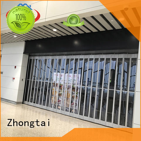 Zhongtai New commercial shutters manufacturers for shop