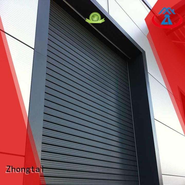 Zhongtai shutter industrial door company for sale for warehouse