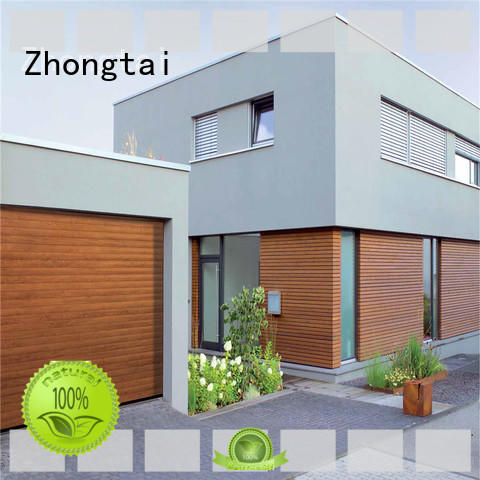 Zhongtai commercial aluminium shutters supply for warehouse