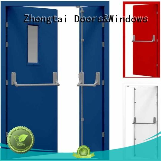 safety fire resistant door single for sale for building