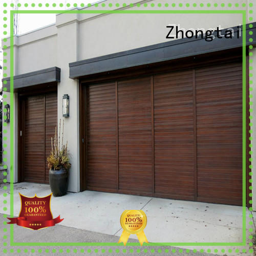 Zhongtai residential commercial steel doors for business for garage
