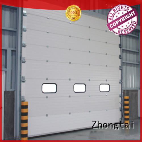 Zhongtai Latest industrial garage doors for sale for warehouse