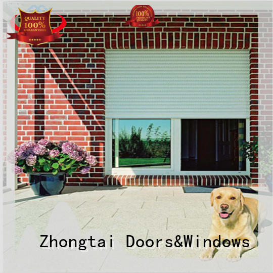 Best insulated roll up garage doors shutter supply for supermarket