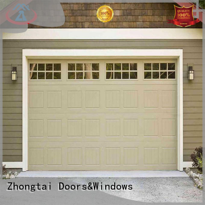 Zhongtai home roll up garage doors factory for house