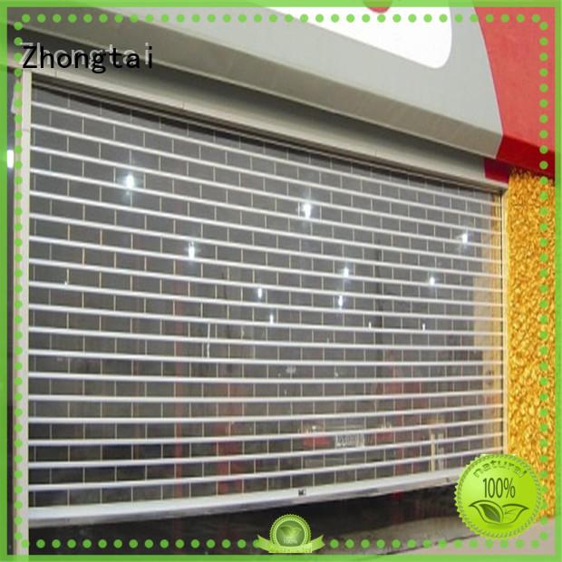 Zhongtai Best shop shutter prices factory for shop