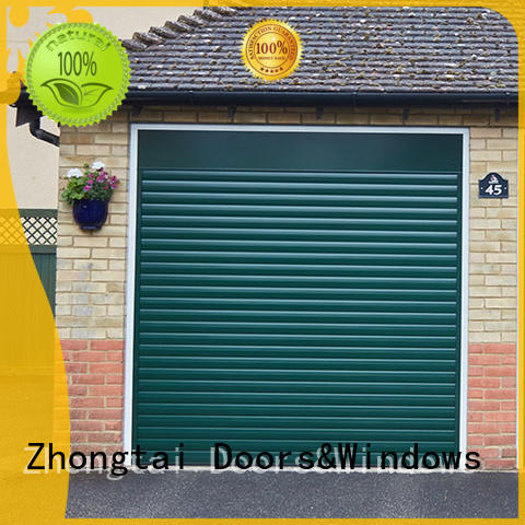 Zhongtai New electric garage doors for sale for industrial plants