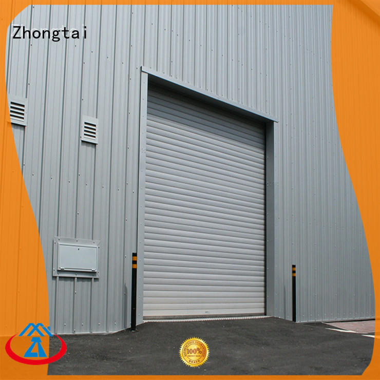 Zhongtai strong hurricane doors for business for typhoon areas