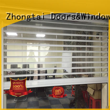Zhongtai Custom shop shutter prices suppliers for window display