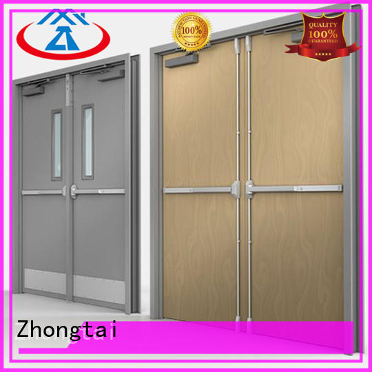 Zhongtai security fire doors for sale for sale for hospital