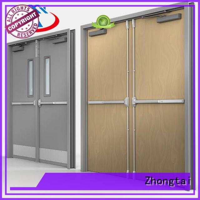 Zhongtai Custom fire resistant door factory for hospital