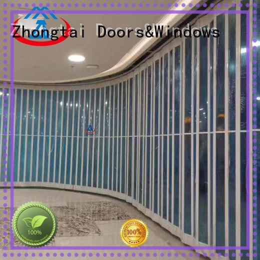 Zhongtai Top folding door supply for shop