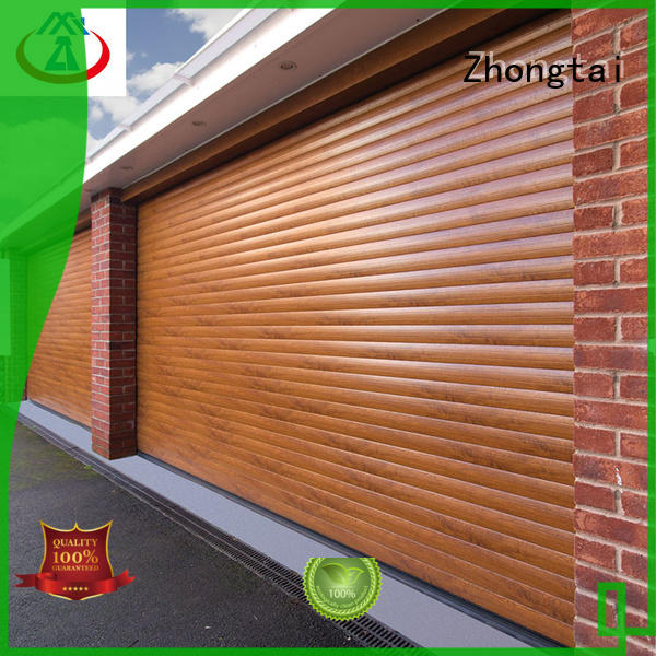 Zhongtai door commercial metal doors supply for supermarket
