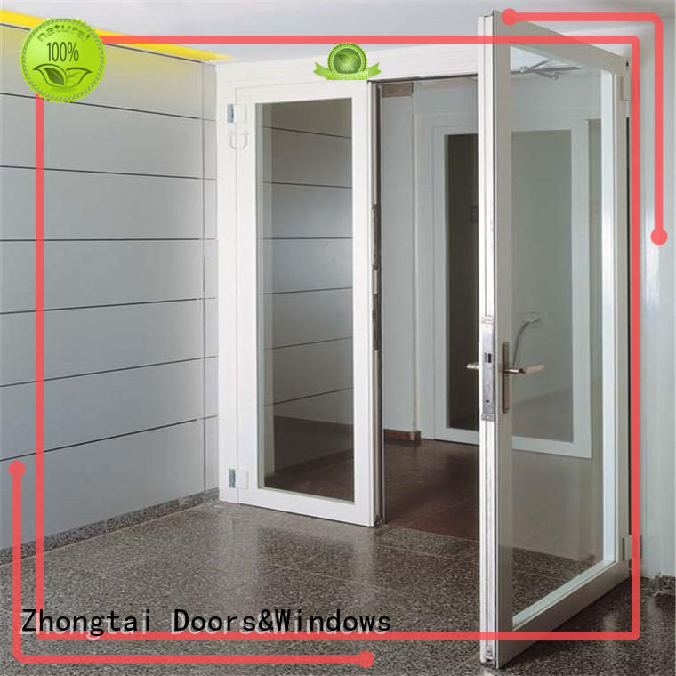 Zhongtai Top aluminium sliding doors suppliers for office