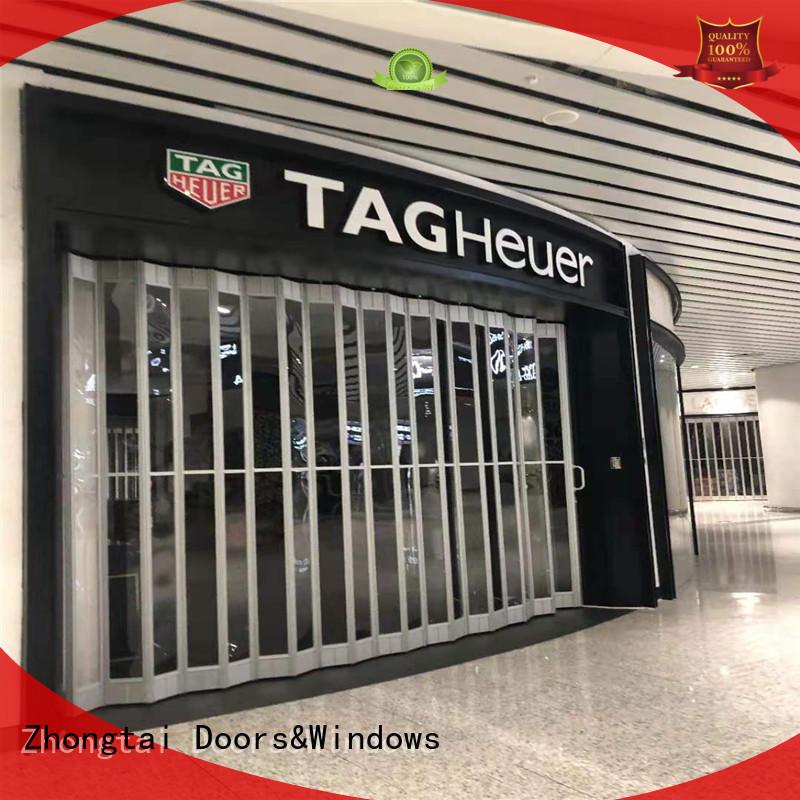 Zhongtai Top shop shutter company for shopping mall