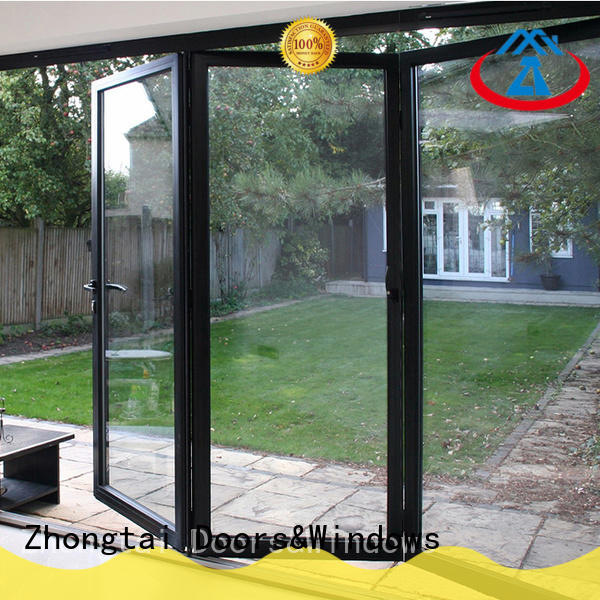 Zhongtai High-quality aluminium door frame factory for high-grade villas
