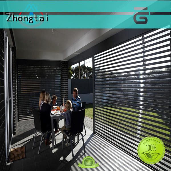 Zhongtai Top shop shutter prices company for supermarket