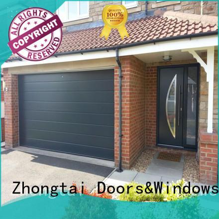 Top aluminum garage doors panel company for high-grade villas