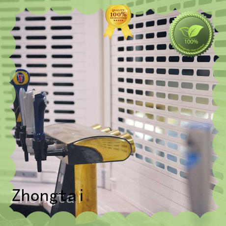 Zhongtai remote security shutters for business for shop
