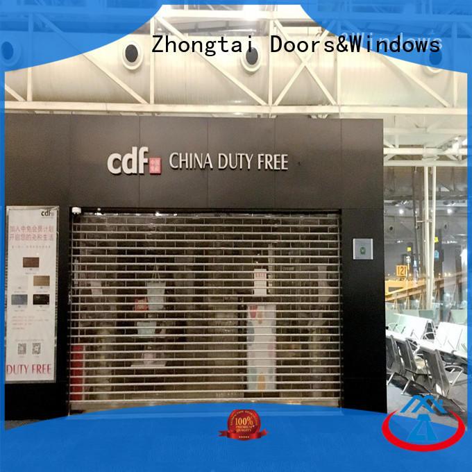 High-quality shop roller doors door suppliers for commercial shop