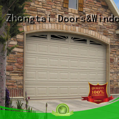 Zhongtai Latest roll up garage doors for business for warehouse