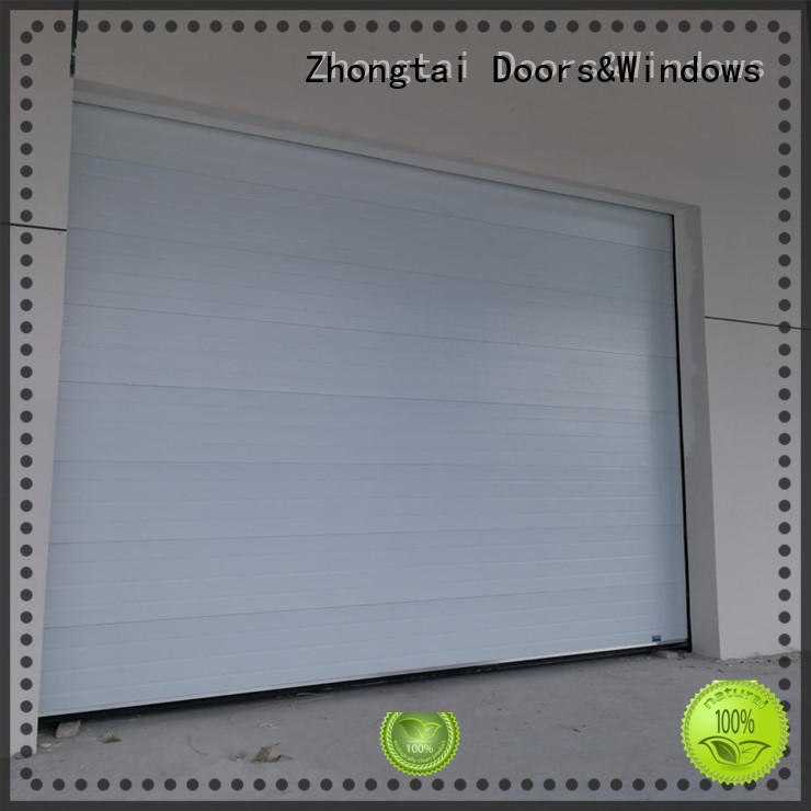 Zhongtai overhead industrial roller shutter doors for sale for large building