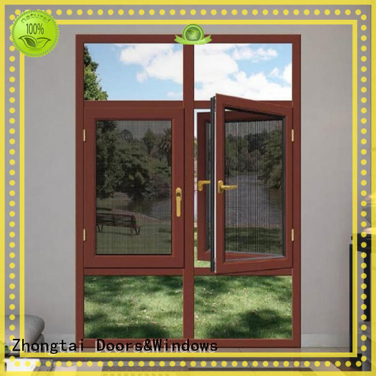 Zhongtai Best aluminium window frames company for house