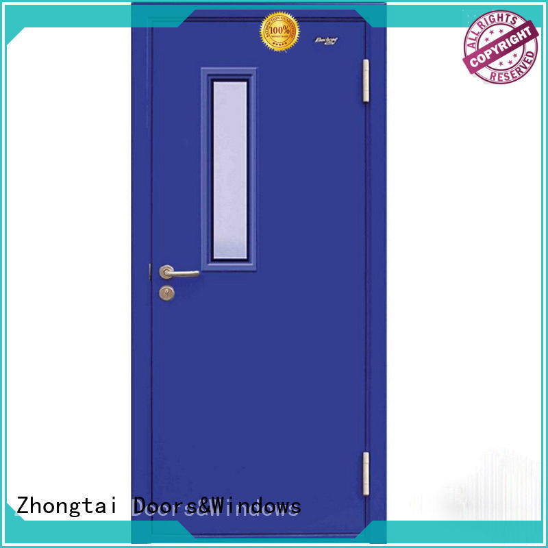 Zhongtai commercial garage fire door factory for indoor