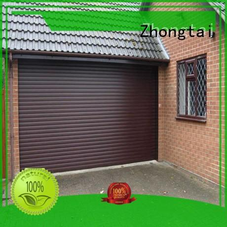Zhongtai aluminum aluminum garage doors for sale for residential buildings