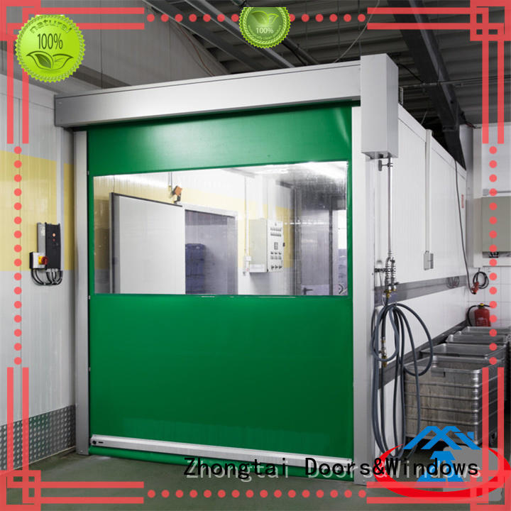 automatic high speed doors sealing suppliers for warehouse