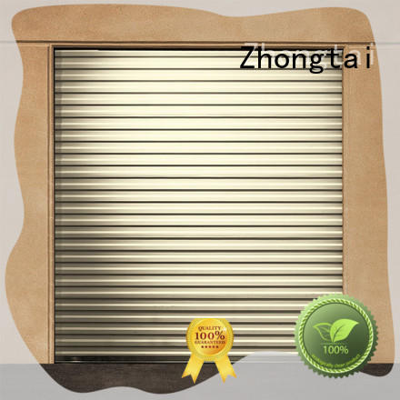 Zhongtai Best aluminium shutters manufacturers for warehouse