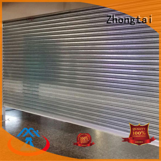 Best steel roll up doors pedestrian supply for garage