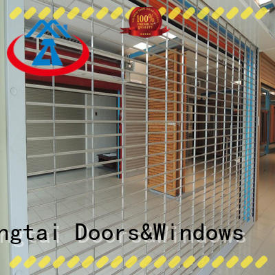 Zhongtai electric security grilles suppliers for bank