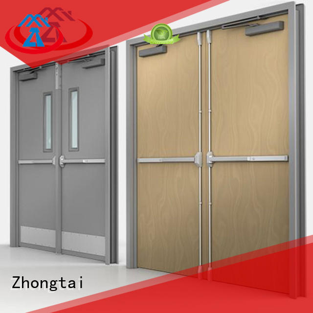 Latest fire resistant door door supply for indoor