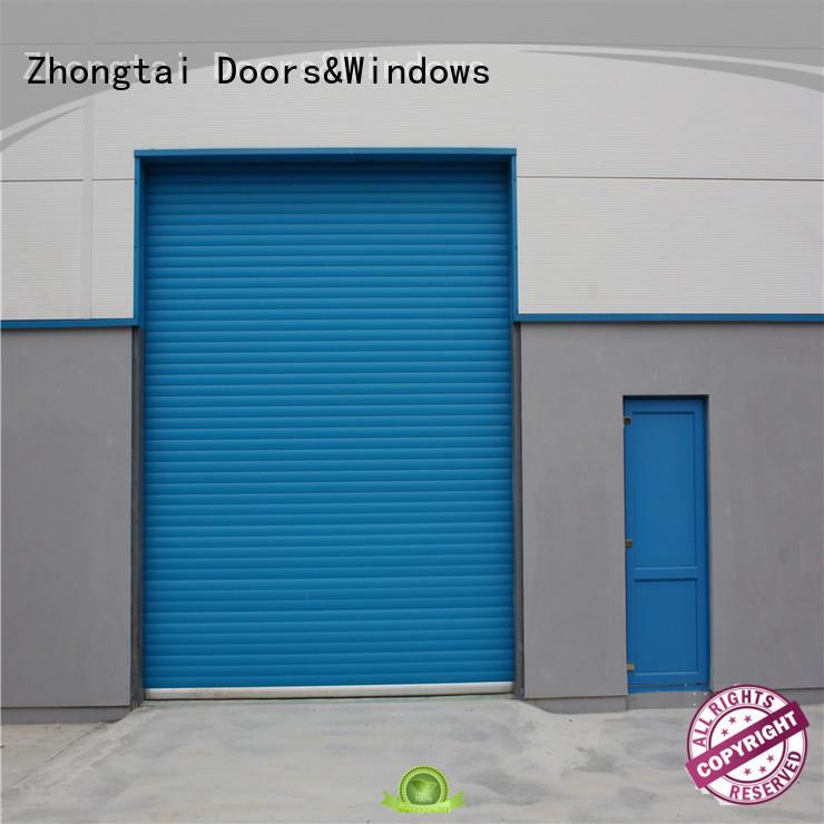 Zhongtai online hurricane doors manufacturers for warehouse