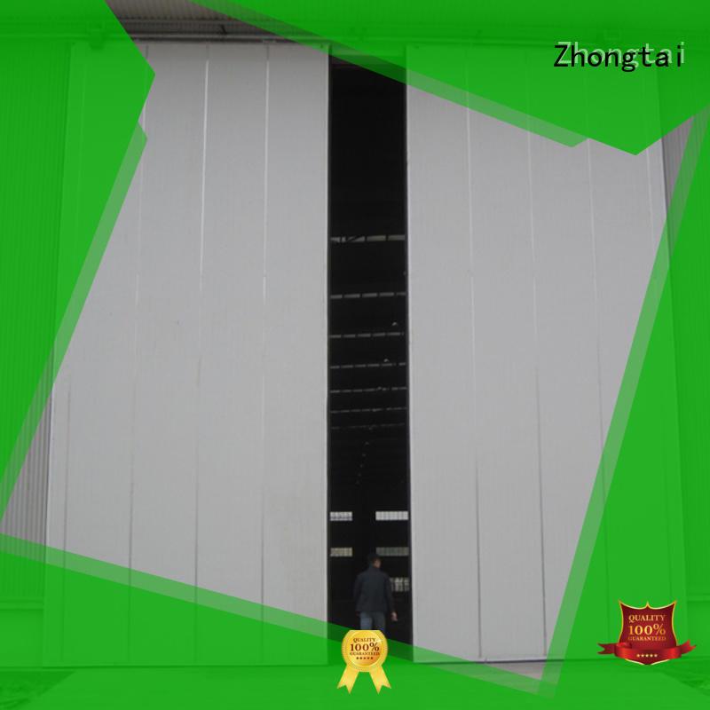 Zhongtai anti-hurricane industrial sliding door company for factory