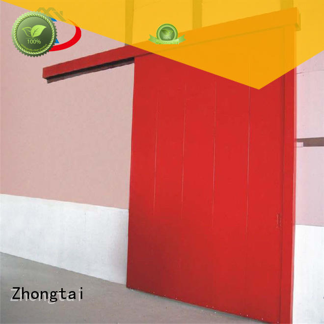 Zhongtai high quality industrial sliding door suppliers for industrial zone