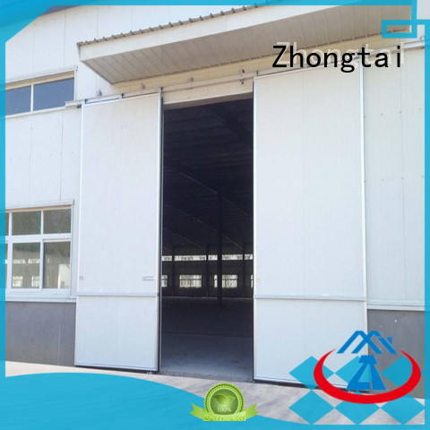 Zhongtai lifting industrial roller doors for sale for factory