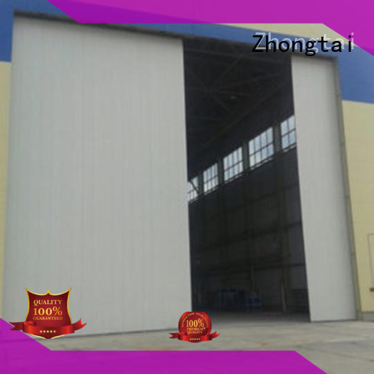 Zhongtai aluminum industrial roller doors manufacturers for factory
