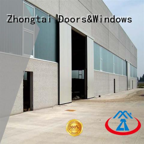 online industrial sectional overhead door manufacturer for factory