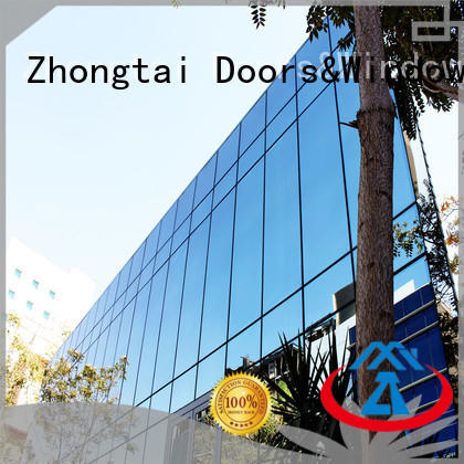 high quality glass curtain wall glass series for house