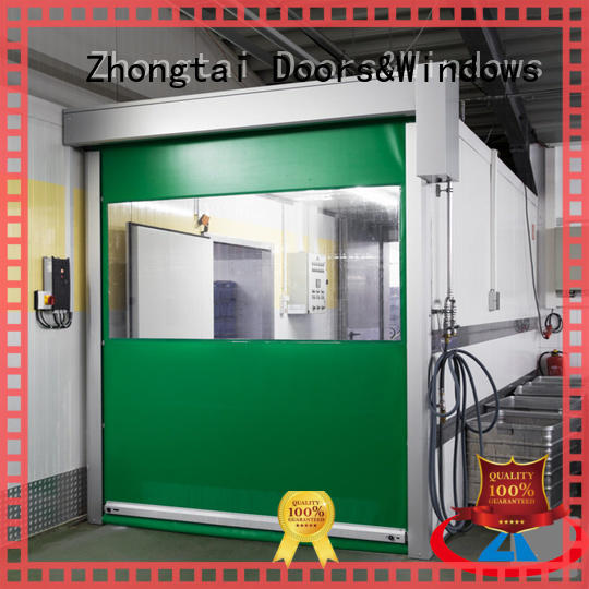 Top high speed doors rolling supply for warehouse