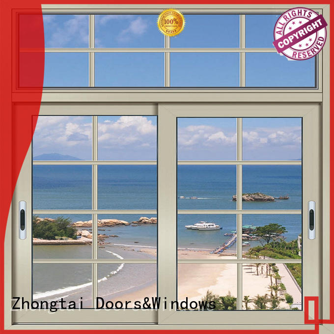 Zhongtai windows aluminium window manufacturers for business for home