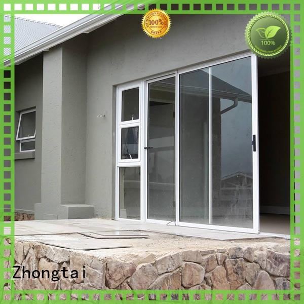 Zhongtai aluminum aluminium sliding door factory for office