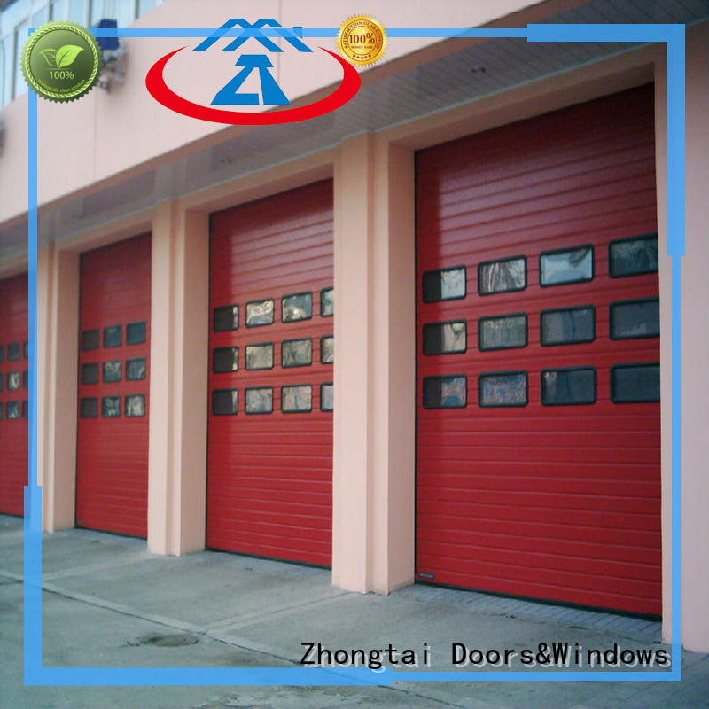 Zhongtai Latest industrial door company manufacturers for large building