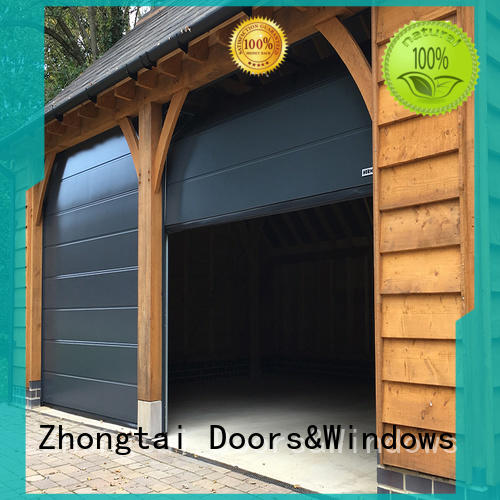 Zhongtai High-quality garage doors for sale company for garage