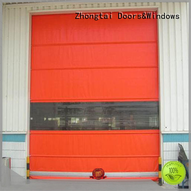 Zhongtai Custom speed door suppliers for warehouse