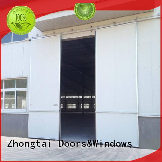Zhongtai customized industrial roller doors factory for industries