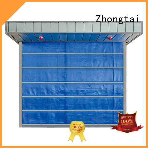 Zhongtai lateral residential fire rated doors suppliers for warehouses